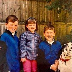 Casey's three children