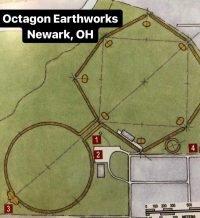 diagram of Octagon Earthworks